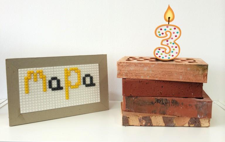 MaPa cumple 3 años