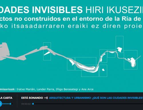 """Ciudades invisibles en """"Hoy por hoy Bilbao"""" con Azul Tejerina"""