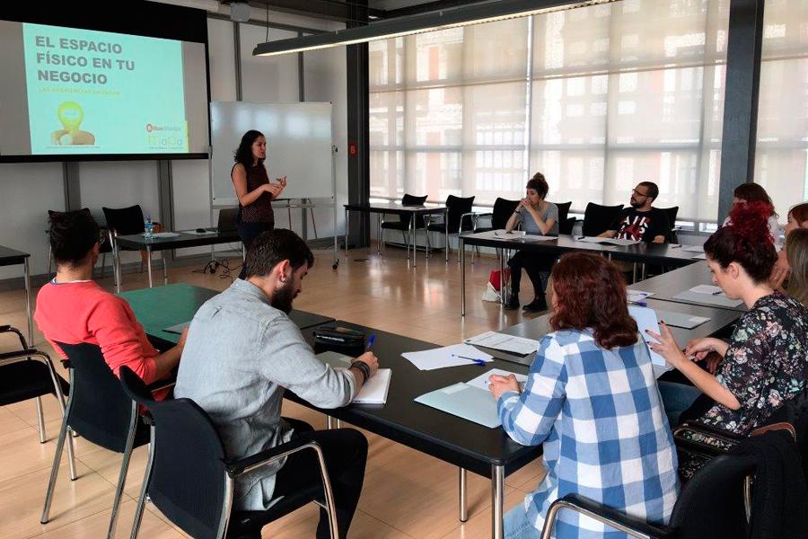 el espacio fisico en tu negocio para Bilbao Ekintza