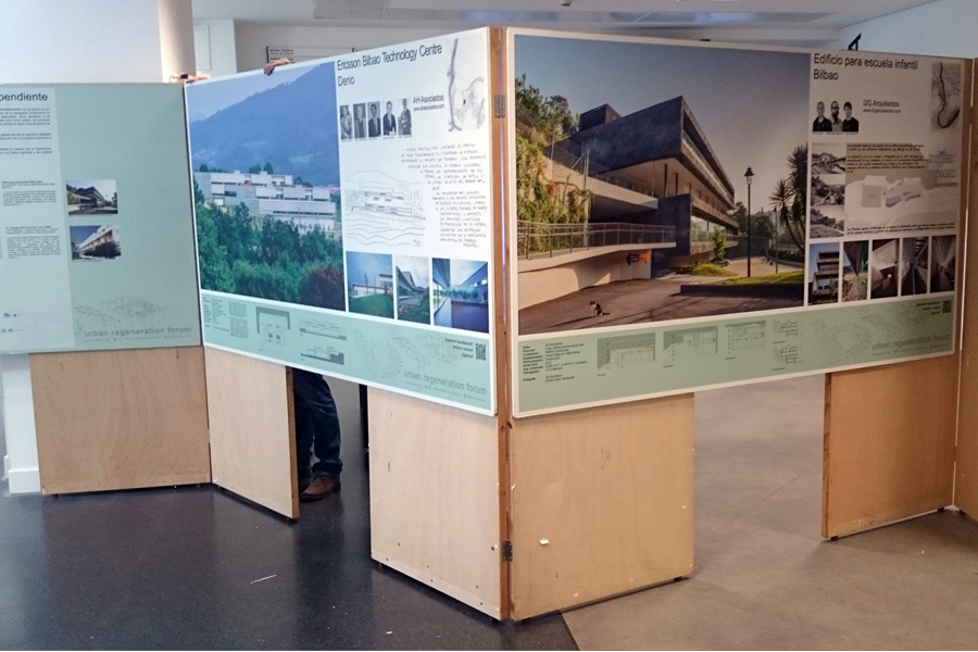 Diálogs. Arquitectura vizcaína del siglo XXI. En la Escuela superior de arquitectura de la UPV-EHU. Donostia-San Sebastián