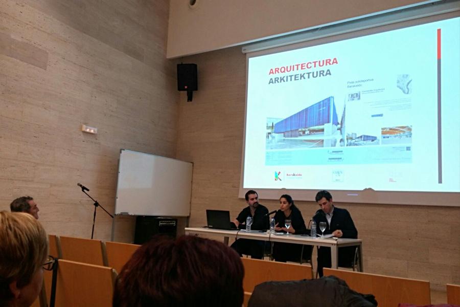 Diálgoos. Arquitectura vizcaina del siglo XXI. Salas de exposiciones en barakaldo